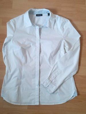 Klassische, weiße Bluse