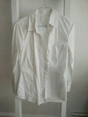Klassische, weiße Bluse (Vero Moda), Stretch