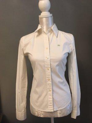 Klassische weiße Bluse von Polo Ralph Lauren