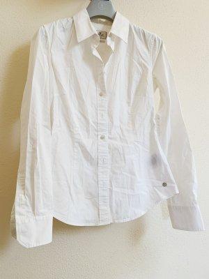 Klassische weiße Bluse von Replay