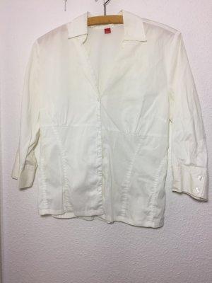 Klassische, weiße Bluse von s.Oliver
