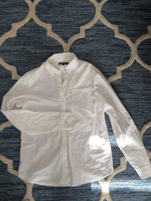 Klassische, weiße Bluse von Tommy Hilfiger