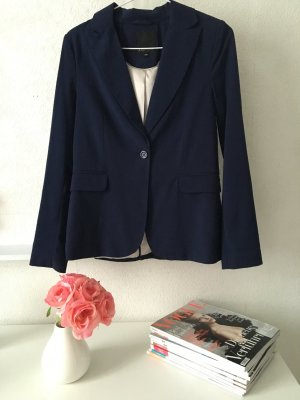 Klassischer Blazer in blau von Amisu Größe 36