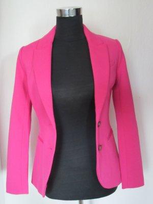 Klassischer Blazer in pink aus Jersey