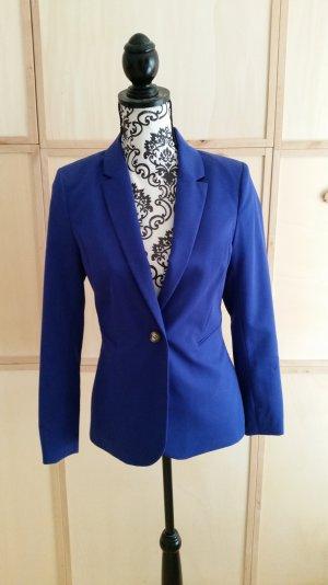 Klassischer Blazer von H&M, 36 royalblau