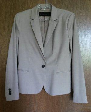 Klassischer Blazer von Zara Basic, Gr. L (40/42), beige