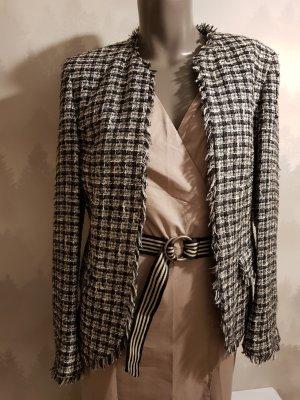 Klassischer Bouclé Tweed Blazer