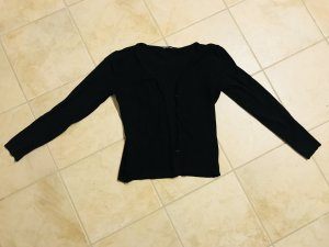 Cardigan black cotton