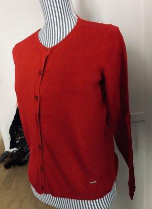 Klassischer Cardigan in rot