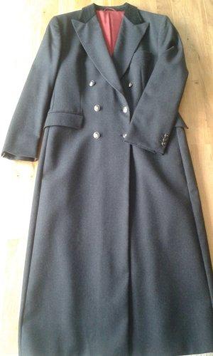Klassischer Cerruti Mantel, grau-schwarz, 40