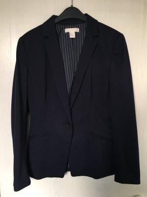 H&M Jersey blazer donkerblauw