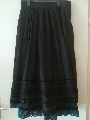 A. Hillebrand Traditional Skirt black-dark green