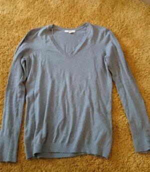 Klassischer Esprit Basic Pullover mit V-Ausschnitt