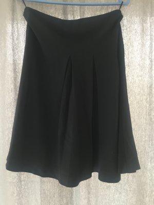 Max Mara Plaid Skirt black new wool