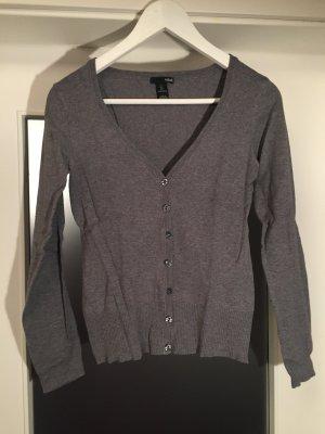Klassischer grauer Cardigan von H&M