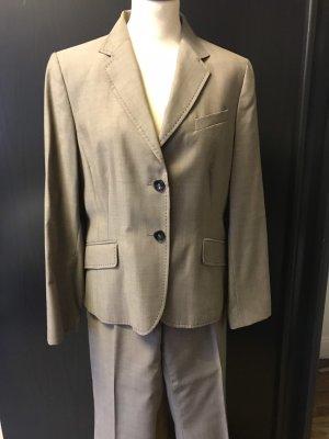 Daniel Hechter Zakelijk pak beige-grijs-bruin