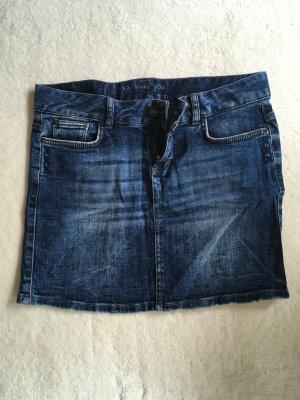 Klassischer Jeans Minirock