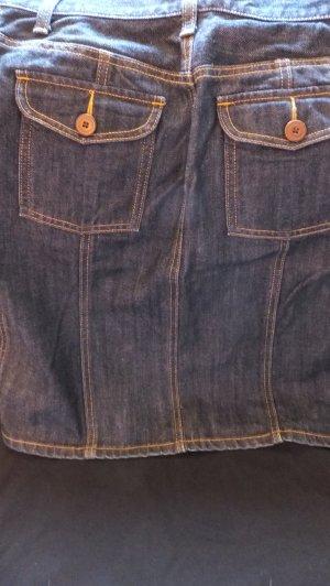 Gap Jupe en jeans bleu-bleu pâle coton