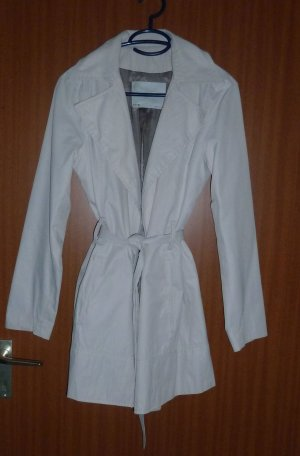 Klassischer Mantel creme Gr. 36 S Zara