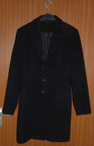 Klassischer Mantel schwarz Gr. 36 S Orsay