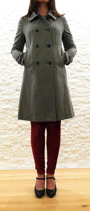Klassischer Mantel von Mango Suit in grau, Gr. S