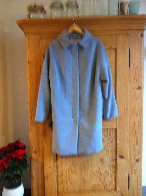 Klassischer Mantel von TRIANGLE Grösse 44 Farbe: blaugrau