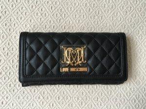 Klassischer Moschino Geldbeutel neu mit Etikett