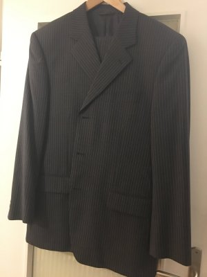 Pierre Cardin Pinstripe Suit anthracite wool