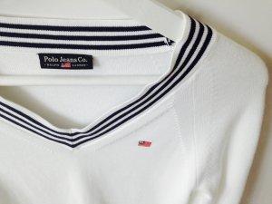 Klassischer Polo Pullover
