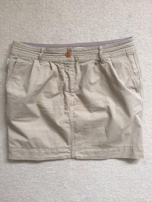 Aigle Miniskirt oatmeal cotton