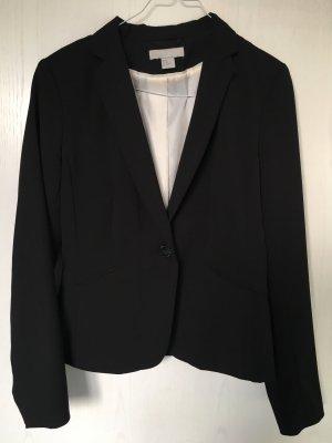 H&M Jersey blazer zwart