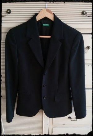 Klassischer schwarzer Blazer von United Colors of Benetton - Taglia 38