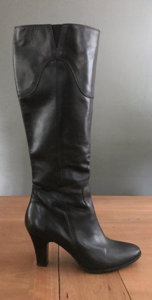 Klassischer schwarzer Stiefel,Business-Stiefel !