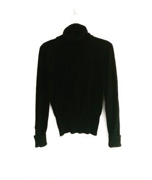 klassischer schwarzer woll rolli  / zeitlos / classy / vintage