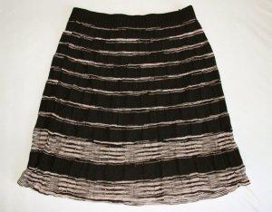 Klassischer Strickrock von Missoni in schwarz/beige