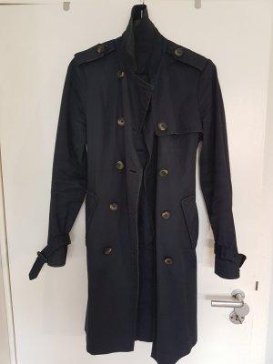 Tommy Hilfiger Trenchcoat donkerblauw