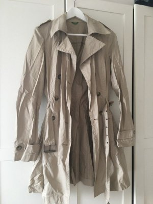 Benetton Trench Coat beige