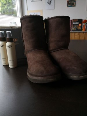 UGG Australia High Boots dark brown