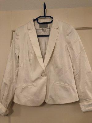 klassischer weißer Blazer
