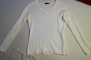 Klassischer weißer Pullover von DARLING HARBOUR