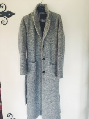 mbyM Cappotto taglie forti argento