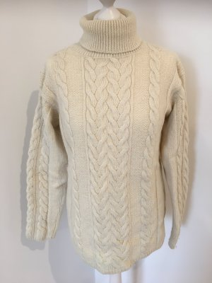 Cable Sweater natural white