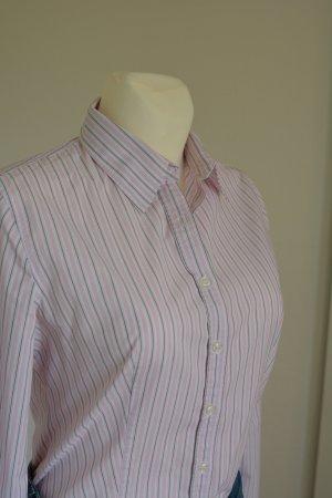 klassisches Benetton Hemd Rose Streifen