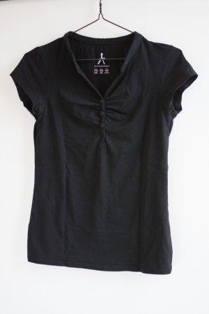 Klassisches Black Basic Shirt