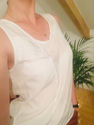Vero Moda Glanzende blouse wit