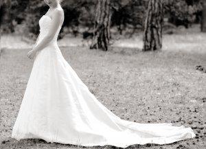 Klassisches Brautkleid A-Linie