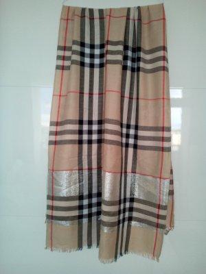 Klassisches Burberry-Tuch aus Kaschmir
