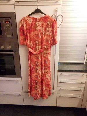 klassisches Damen Kleid in Größe 48 Farbe orange