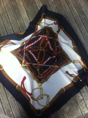 Foulard multicolore fibre synthétique