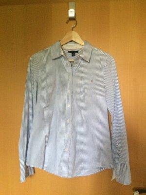 Klassisches Hemd blau/weiß
